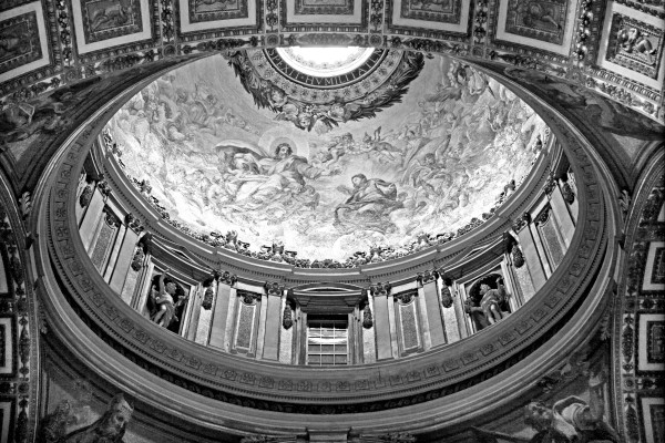 Vatican City BW