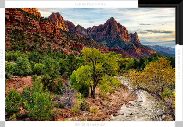 The Watchman II (151325LND8-SI) Photograph for Sale as Framed Canvas Fine Art Print