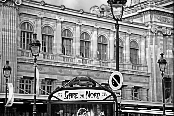 Shop for Gare du Nord Photographic Art | Decor for your space