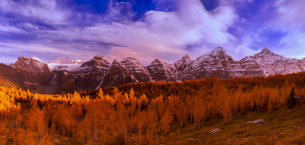 Larch Valley.Banff National Park|Canadian Rockies|Rocky Mountains|