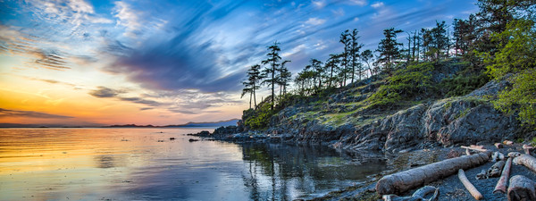 Keel Cove Sunset