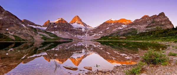 Assiniboine & Lake Magog.Canadian Rockies| Rocky Mountains| Banff national Park|