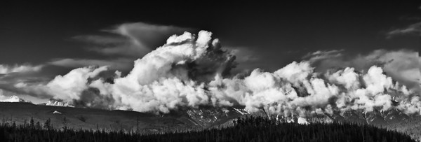 Dust of His Feet. Banff National Park|Rocky Mountains|Canadian Rockies|