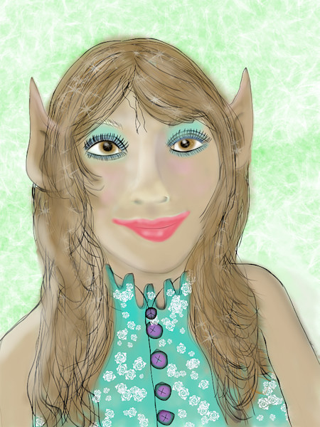 Elves Gnomes And Fairy Fantasy Art Prints by Lynne Marie