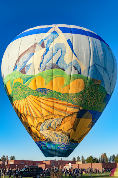 Balloons Over Bend I (161491LSND8-S) Photograph for Sale as Fine Art Print