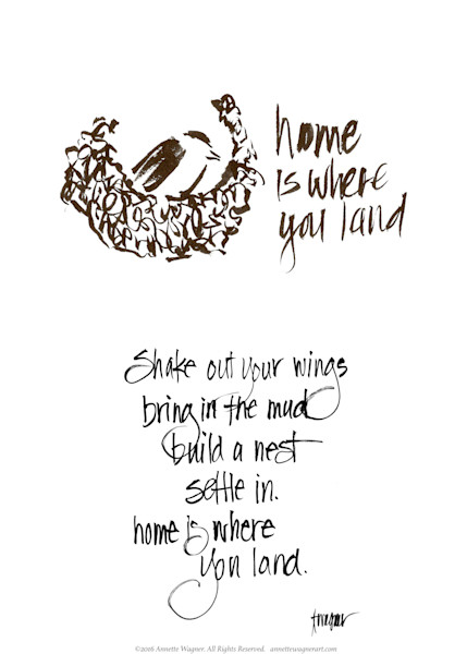 Home is Where You Land