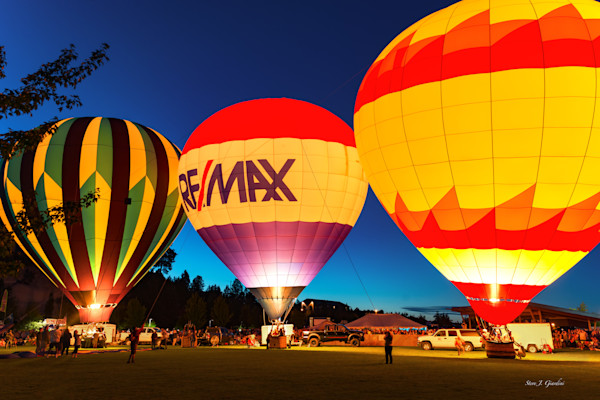 Balloon Nightglow I (161495LSND8-S) Photograph for Sale as Fine Art Print