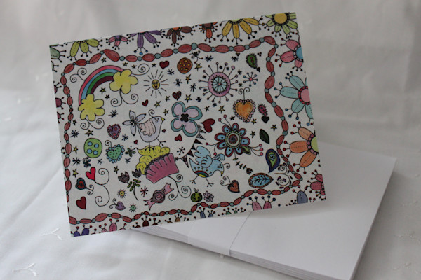 This and That Various Blank Notecards by artist Lynne Marie