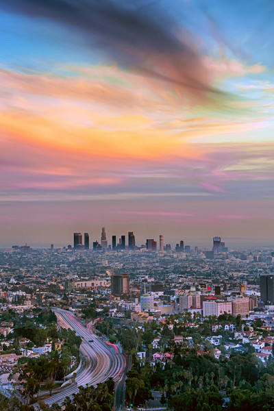 Downtown Los Angeles Art Decor Photographs.