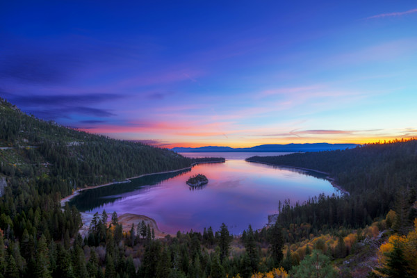 Lake Tahoe Sunrise Photographs Wall Art Decor.