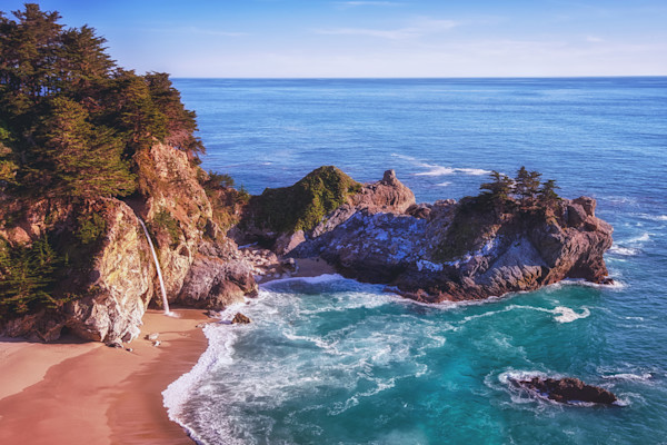 McWay Falls Photographs. Big Sur Art.