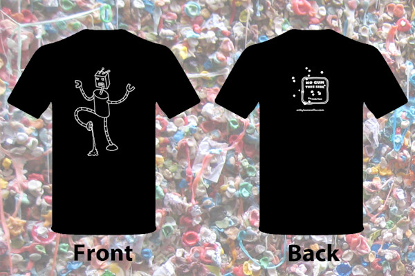 Awesome Robot T-shirts