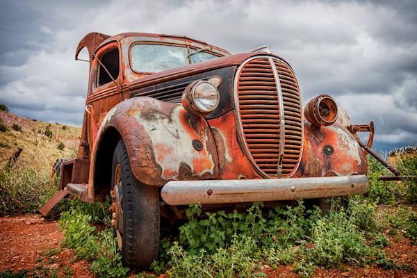 Vintage Truck Art. Jerome Photographs.