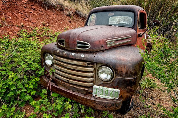 Old Ford Truck Wall Art Photographs.