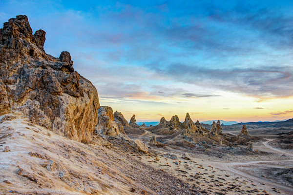 Trona Pinnacles Desert Photographs Wall Art Decor.
