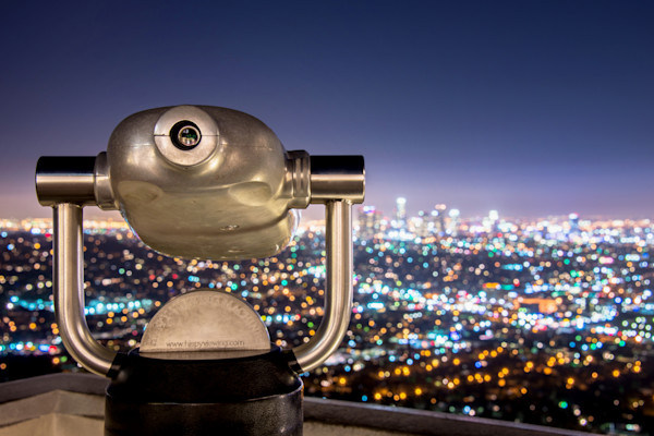Downtown Los Angeles Photographs. Night Photography Art.