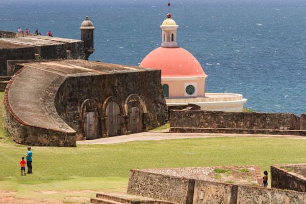 Fine Art Photographs of a Historic Fort in San Juan by Michael Pucciarelli