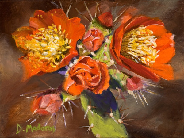 Arizona Rose Mini Canvas