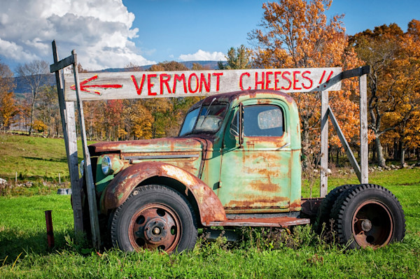 Old Pickup Truck Photographs. Vintage Vermont Art.