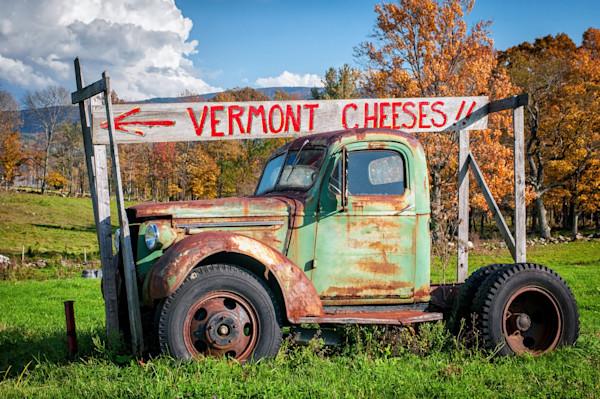 Old Pickup Truck Photographs. Vintage Vermont Art.