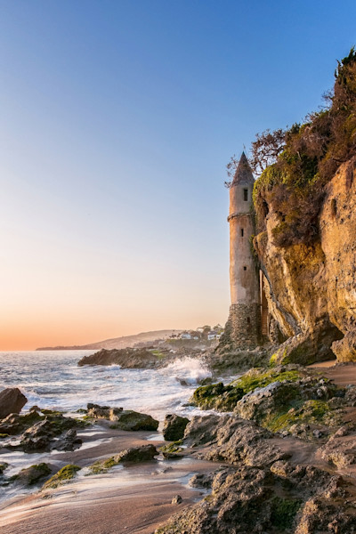 Laguna Beach Tower Photographs Wall Art Decor.
