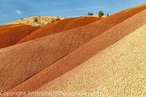 of Painted Hills Ripple ,fine art photograph