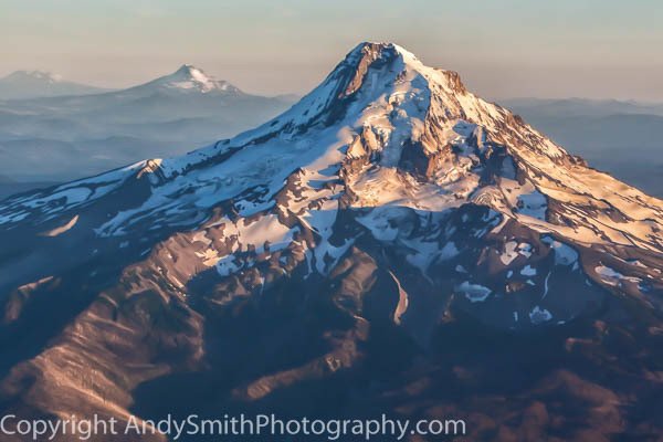 fine art photograph of Mount Hood in Sunset Light