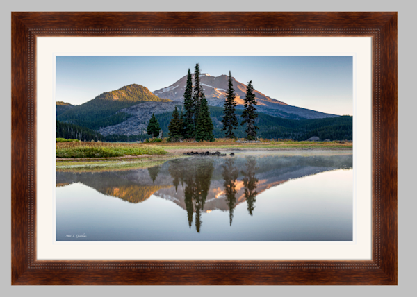 South Sister Sunrise (151242LNND8) Sparks Lake Oregon Steve J. Giardini