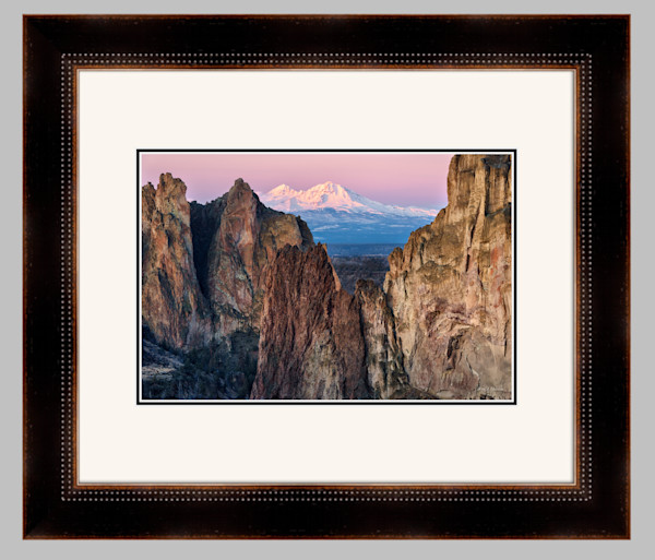 Sisters Glow (151352LND8) Framed Fine Art Paper Photograph for Sale