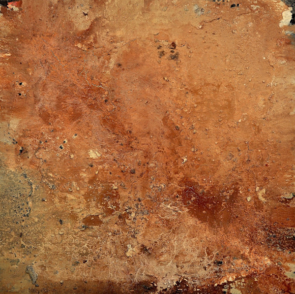 Brown abstract art