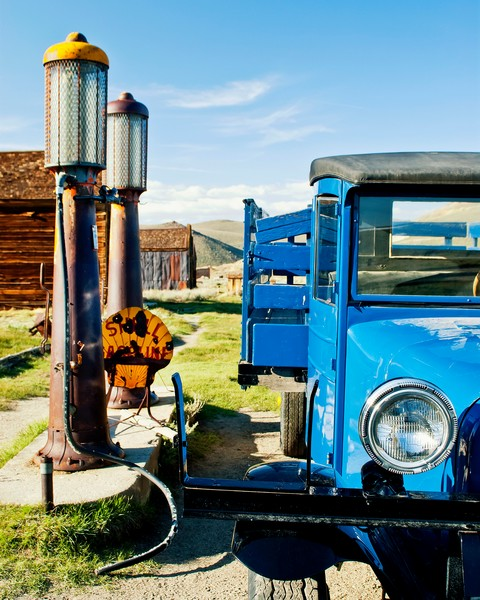 Bodie Ghost Town Photographs. Old Truck Wall Art.
