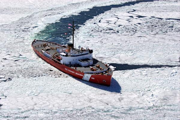 Mackinaw WAGB-83, Last Sail--Whitefish Bay