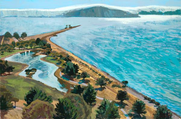 Miller Knox, landscape, painting, art, Richmond