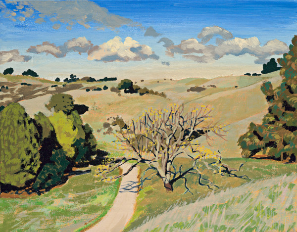 Alvarado, East Bay, landscape, painting, art