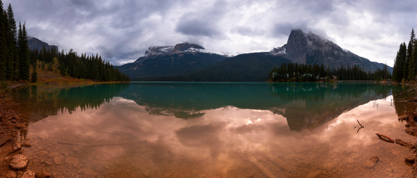 Emerald Lake. Canadian Rockies|Rocky Mountains|Yoho National Park|