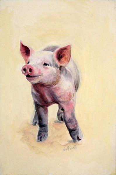 Piglet - custom size print