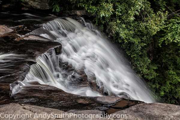 Top of Muddy Creek Falls  fine art photograph