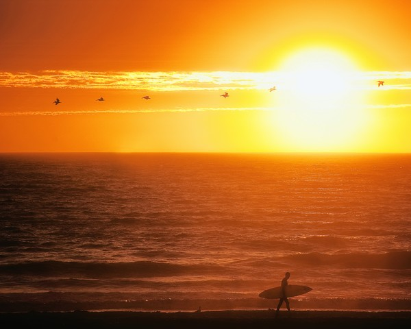 California Surfing Photographs Pismo Beach Art.