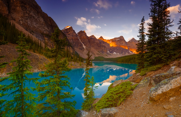 Moraine Lake and Valley of 10 Peaks.Banff National Park | Canadian Rockies |