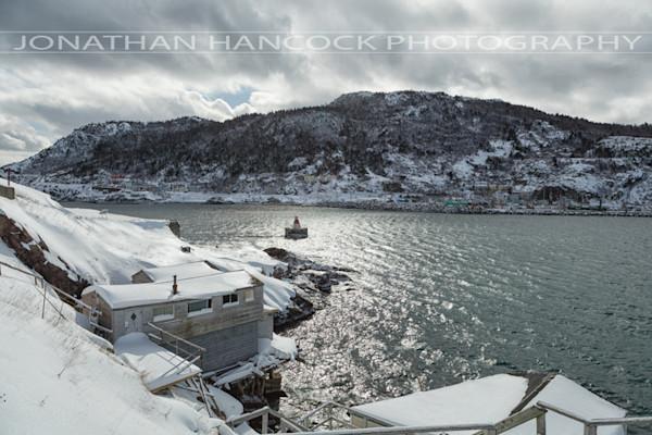 Newfoundland Photogrpahy - The Battery - Battery Snow