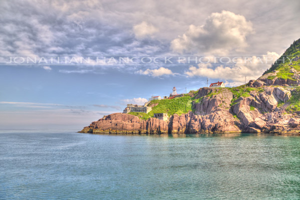 Newfoundland Art -Fort Amherst Sun