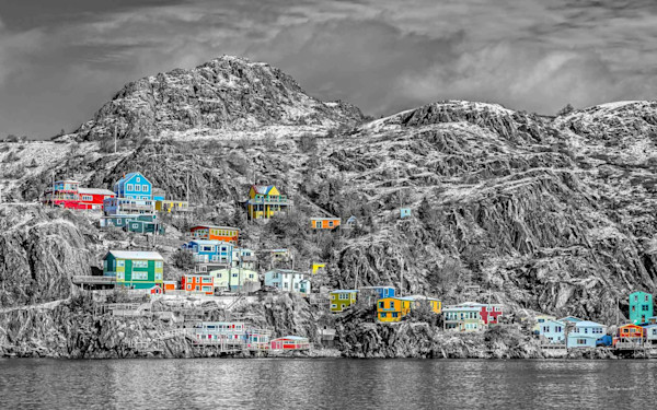 Newfoundland Art - The Battery - St. John's - Quest For Colour II
