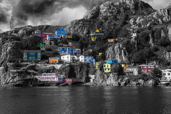 Newfoundland Art - The Battery - St. John's - Quest For Colour
