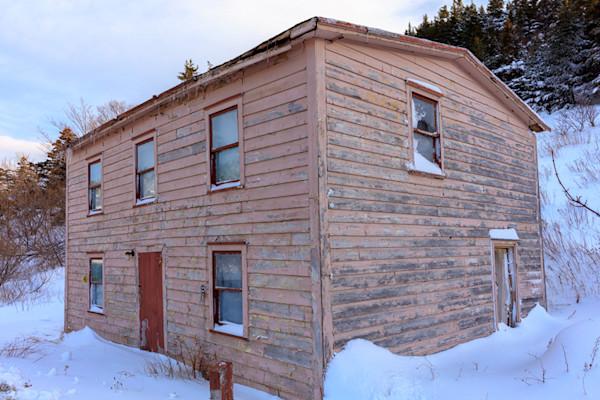 Old Peach - Newfoundland Saltbox House