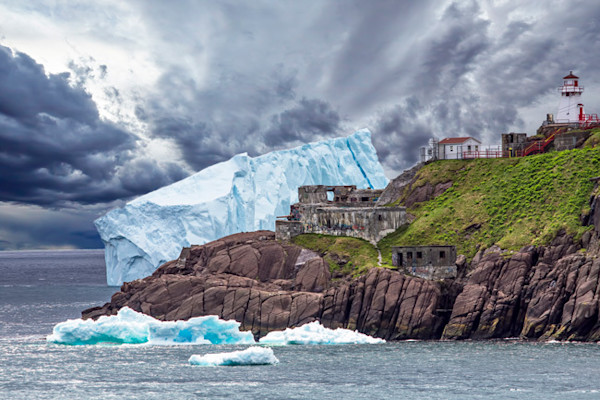 Fort Amherst - Iceberg - Up Close