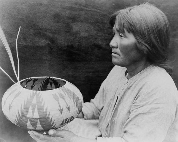 A Lake Mono Basket-maker