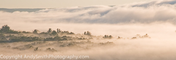 Misty Morning on the Upper Dleaware fine art photograph