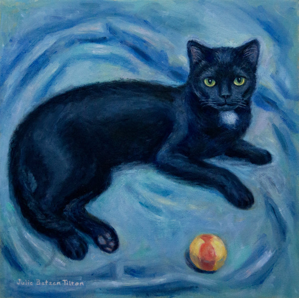 Black Kitty by Julie Betzen Tilton