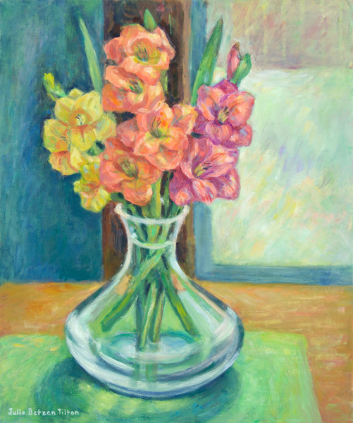 Luminous Bouquet by Julie Betzen Tilton
