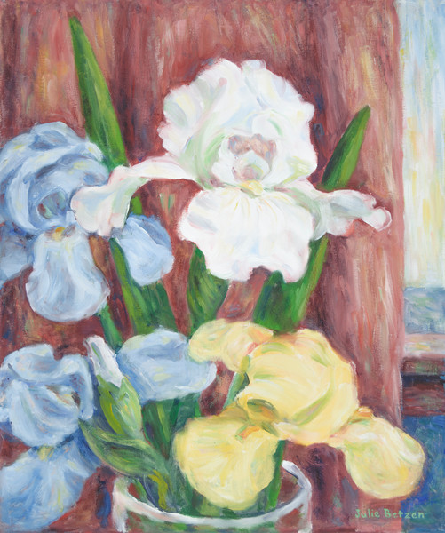 Spring Color - Iris by Julie Betzen Tilton